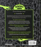 Herboristerie coquine ; carnet de botanique érotique - 4ème de couverture - Format classique