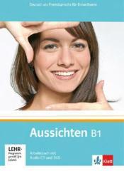 Aussichten ; allemand ; niveau b1 ; cahier d'exercices + cd + dvd - Couverture - Format classique