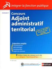 telecharger Concours adjoint administratif territorial – categorie C (edition 2012) livre PDF/ePUB en ligne gratuit