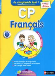 Je Comprends Tout! ; Français ; Cp ; 6-7 Ans - Couverture - Format classique