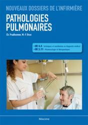 Pathologies pulmonaires - Couverture - Format classique