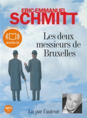 Les deux messieurs de Bruxelles - Couverture - Format classique