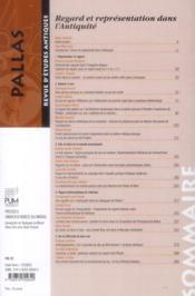 Revue Pallas - 4ème de couverture - Format classique