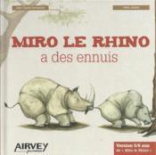 Miro le Rhino a des ennuis - Couverture - Format classique