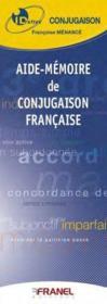ID REFLEX ; aide-mémoire de conjugaison française - Couverture - Format classique