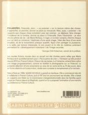 Polaroïds - 4ème de couverture - Format classique