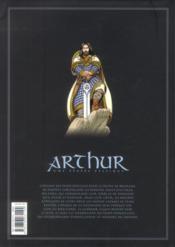 Arthur ; intégrale t.7 à t.9 - 4ème de couverture - Format classique