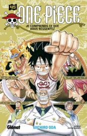 One Piece - édition originale T.45 ; je comprends ce que vous ressentez - Couverture - Format classique