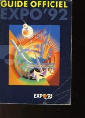 Guide Officiel Expo'92 - Couverture - Format classique