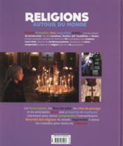 Religions autour du monde - 4ème de couverture - Format classique