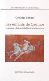 Les Enfants De Cadmos - Couverture - Format classique