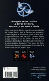 Hunger games T.3 ; la révolte - 4ème de couverture - Format classique