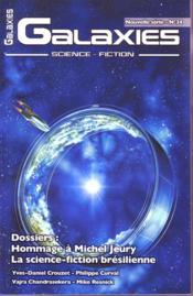 Revue Galaxies Sf N.34 ; Dossiers: Hommage A Michel Jeury ; La Science-Fiction Brésilienne - Couverture - Format classique