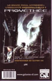 Revue Galaxies Sf N.34 ; Dossiers: Hommage A Michel Jeury ; La Science-Fiction Brésilienne - 4ème de couverture - Format classique