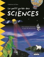 Le petit guide des sciences - Couverture - Format classique