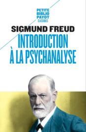 Introduction à la psychanalyse - Couverture - Format classique