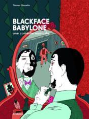 Blackface Babylone - Couverture - Format classique