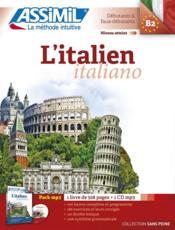 L'italien ; débutants et faux-débutants B2 - Couverture - Format classique