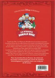 La dynastie Donald Duck ; INTEGRALE VOL.18 ; 1969-2008 ; les cookies du dragon rugissant et autres histoires - 4ème de couverture - Format classique