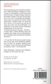 Pristina - 4ème de couverture - Format classique