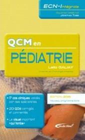Qcm en pédiatrie - Couverture - Format classique