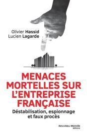Menaces mortelles sur l'entreprise française - Couverture - Format classique