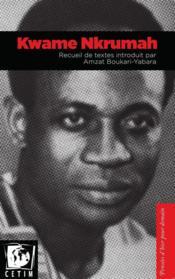 Recueil de textes introduit par Amzat Boukari-Yabara - Couverture - Format classique
