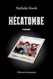 Hécatombe - Couverture - Format classique