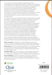 Le recyclage des résidus organiques ; regards croisés sur une pratique agro-écologique - 4ème de couverture - Format classique