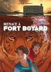 Menace à Fort Boyard - Couverture - Format classique