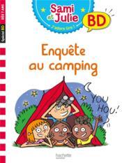 J'apprends avec Sami et Julie ; enquête au camping - Couverture - Format classique