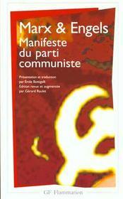 Manifeste du parti communiste - Intérieur - Format classique
