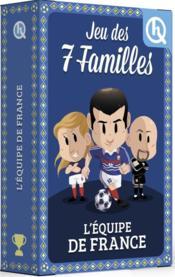 Jeu des 7 familles ; l'équipe de France - Couverture - Format classique