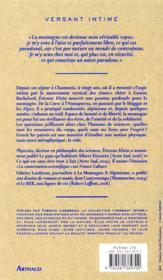 Psychisme ascensionnel ; entretiens avec Fabrice Lardreau - 4ème de couverture - Format classique