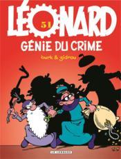 Léonard T.51 ; génie du crime - Couverture - Format classique