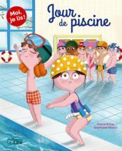 Moi, je lis ! ; jour de piscine - Couverture - Format classique