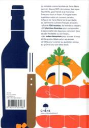 La véritable cuisine familiale - 4ème de couverture - Format classique