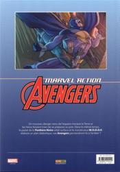 Marvel action - Avengers T.3 ; les phobivores - 4ème de couverture - Format classique