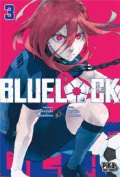 Blue lock T.3 - Couverture - Format classique