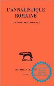 L'annalistique romaine t.2 - Intérieur - Format classique