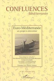 Confluences Mediterranee ; Euro-Mediterranee ; Un Projet A Reinventer - Intérieur - Format classique