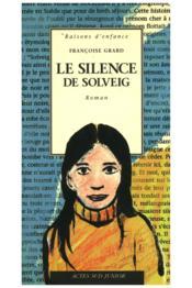 Le silence de solveig - Couverture - Format classique