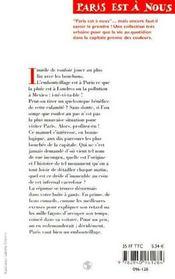 Manuel de l'embouteillage parisien. ne craquez plus, profitez-en ! - 4ème de couverture - Format classique