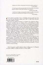 Écrits sur l'Art ; 1867-1905 - 4ème de couverture - Format classique