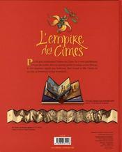 L'empire des cimes - 4ème de couverture - Format classique