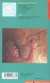 Les eyzies de tayac. la vallee de la vezere - 4ème de couverture - Format classique