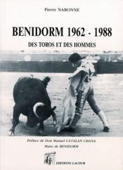 Benidorm 1962 1988 - Couverture - Format classique