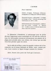Benidorm 1962 1988 - 4ème de couverture - Format classique