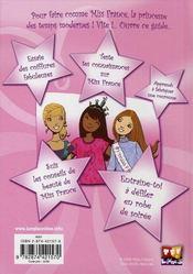 Tous les secrets pour devenir miss france - 4ème de couverture - Format classique