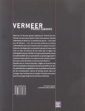 Vermeer - 4ème de couverture - Format classique
